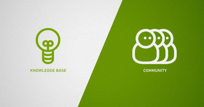 Knowledge bases and forums: what's the difference and does it matter?