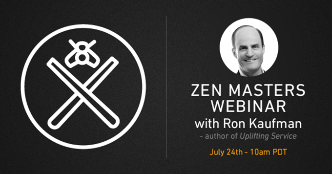 Zen Master webinar series: the proven Path to delighting your customers