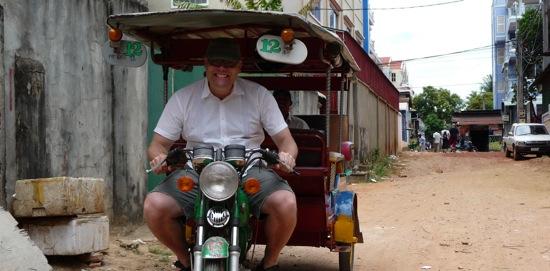 Michael in Cambodia