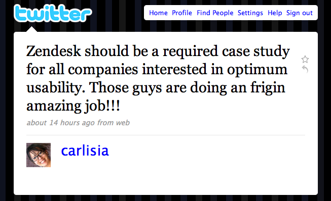 Zendesk a required case study