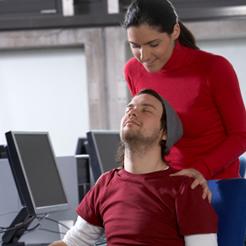 Computer-massage