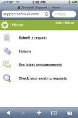 Mobile-zendesk-home