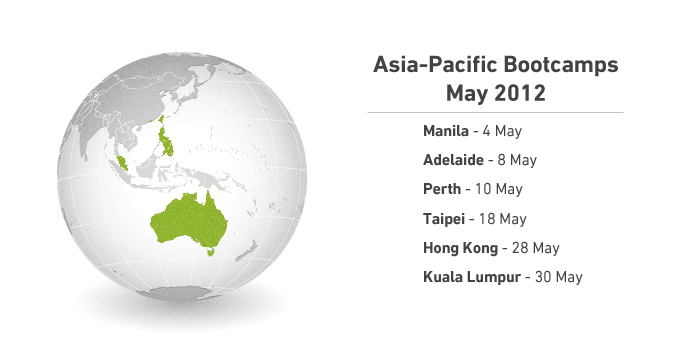 May Bootcamps in Asia Pacific!