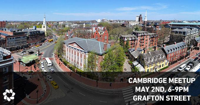 Cambridge Meetup, May 2nd