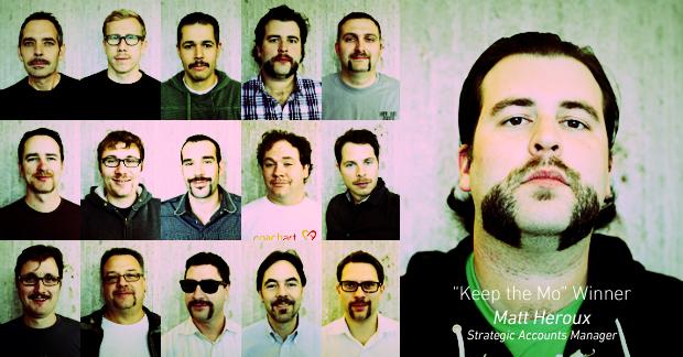 Team Zenstache Wraps Up Movember, Raises $7,000!