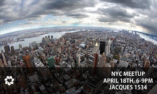 New York Meetup, April 18th