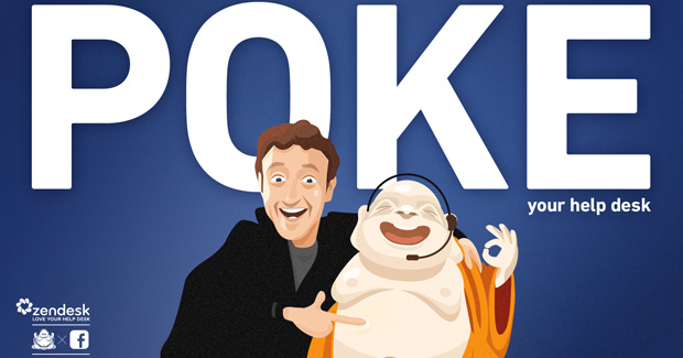 Poke Your Help Desk with Zendesk for Facebook