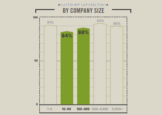 Customer Satisfaction Middle-Sized Companies