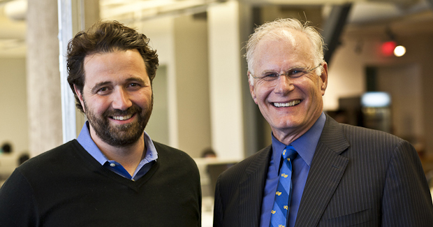 Mark Laret, CEO of UCSF Medical Center, Stops by Our Humble Offices
