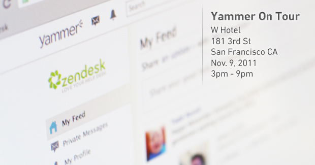 Visit Us at Yammer On Tour, Sign Up for Our Beta