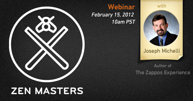 Zen Masters Webinar Series: Q&A with Author Joseph Michelli