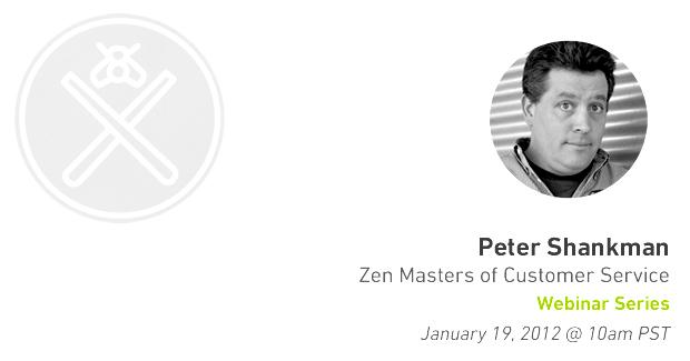Zen Masters Webinar Series – Peter Shankman