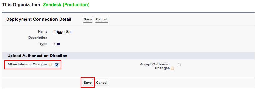 Salesforce: Creating custom links in Salesforce Zendesk